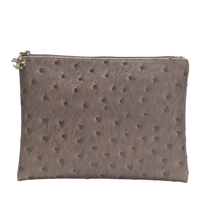 Travel Essential Pouch Brown